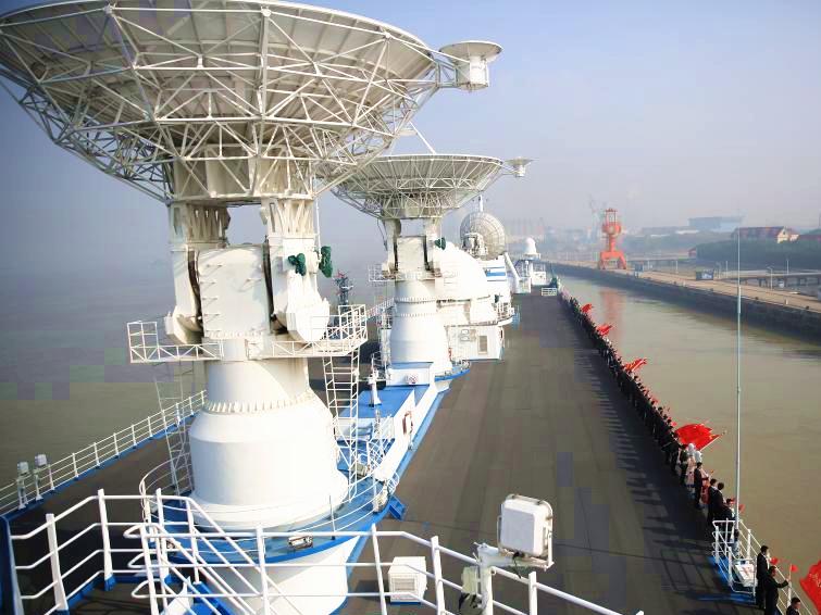 China's tracking ship Yuanwang 7 departs for monitoring missions