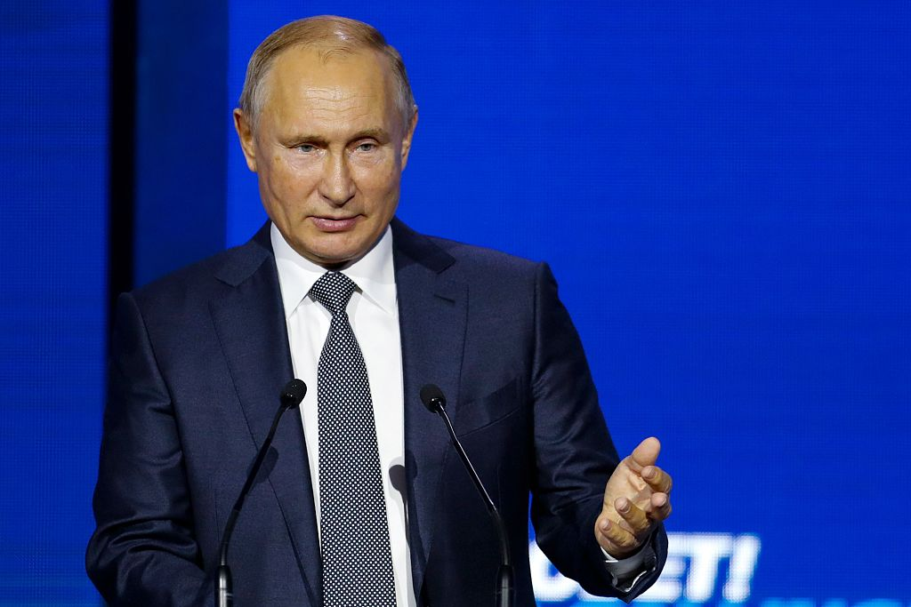 Putin urges US to drop unilateral bans, seek common ground