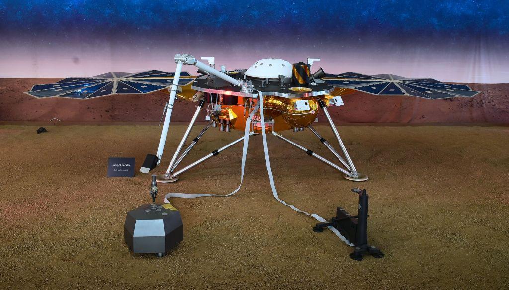 NASA's InSight sends signals to Earth after landing on Mars, deploys solar arrays