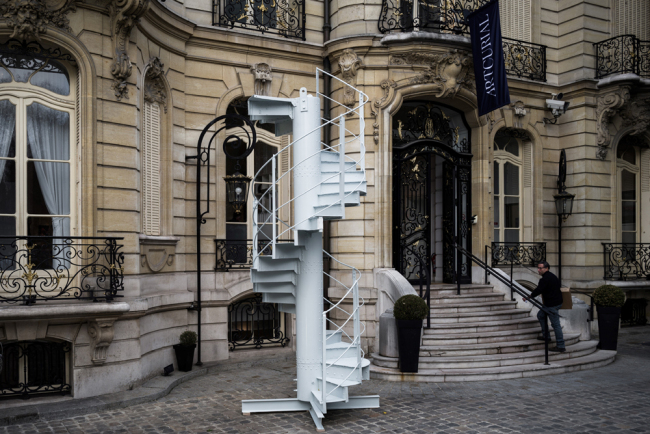 France's Eiffel Tower's stairway piece sold for 169,000 euros