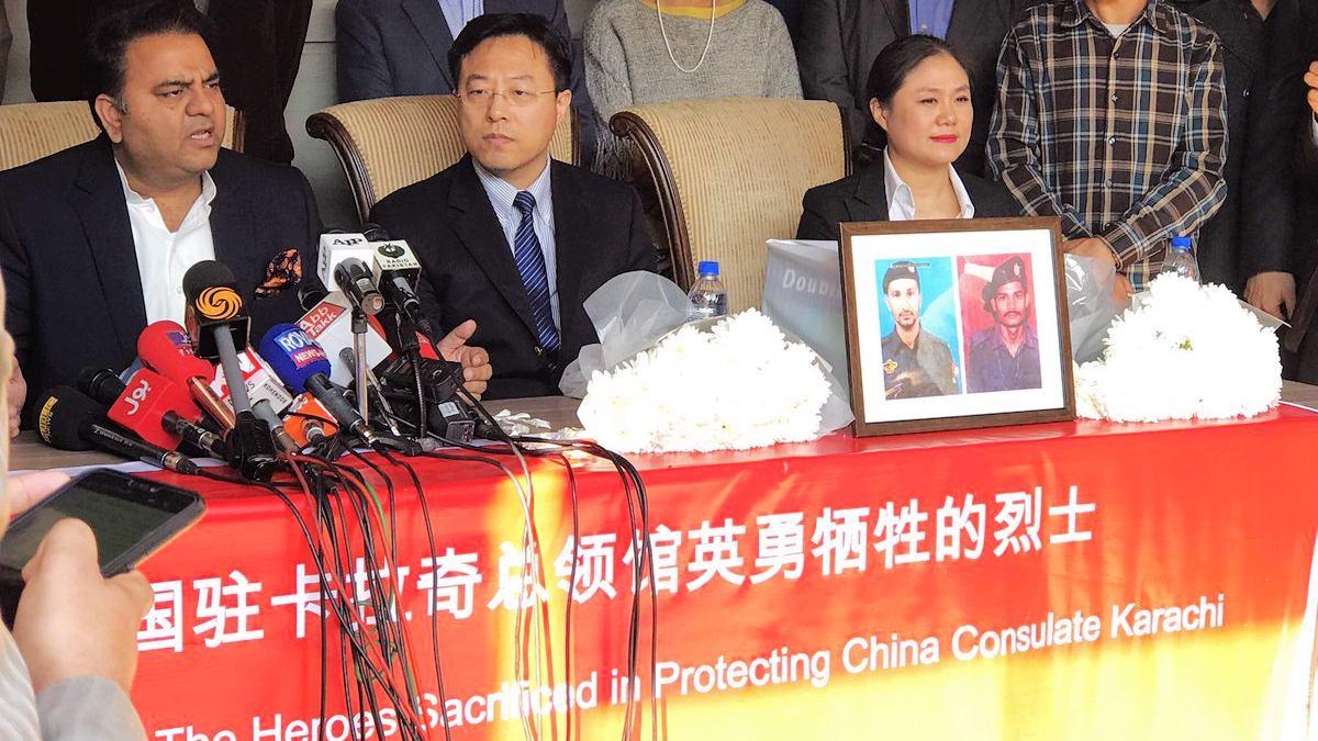 Karachi attack: Chinese citizens raise funds for families of slain Pakistani cops