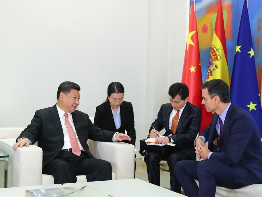 China, Spain pledge to strengthen partnership, deepen cooperation
