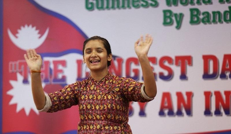 Nepali teenager girl dances for 126 hours to break Guinness World Records