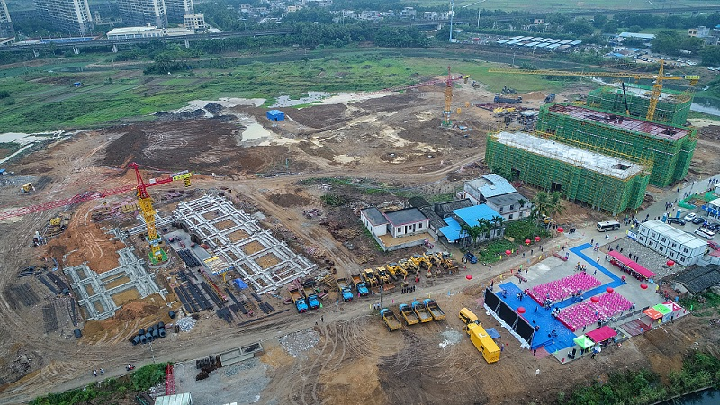 Building up free trade in Qionghai, Hainan Province