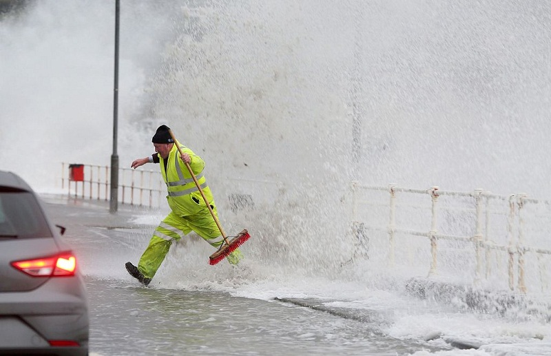 Storm Diana to pound UK and Ireland with rain, severe gales into Thursday