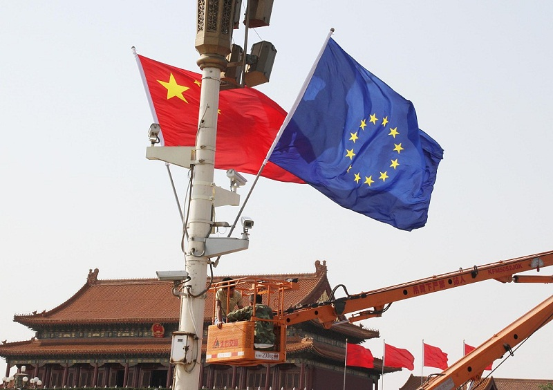 China, EU like-minded on trade issues: vice premier