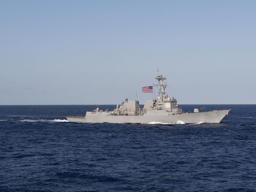 China expresses concerns over US warships crossing Taiwan Strait