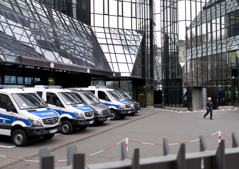 Police search Deutsche Bank offices in money laundering case