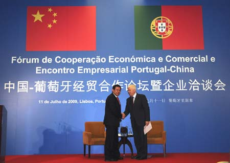 China-Portugal trade up 8 pct in Jan-Oct period