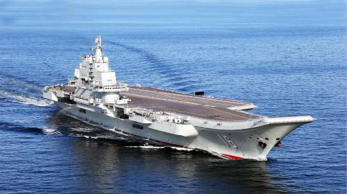 """China's """"third aircraft carrier"""" attracts world attention"""