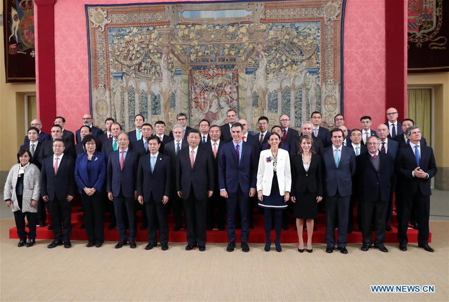 Xi urges Spanish enterprises to make best use of CIIE platform