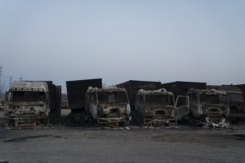 Gas leaks caused Hebei truck blast: probe