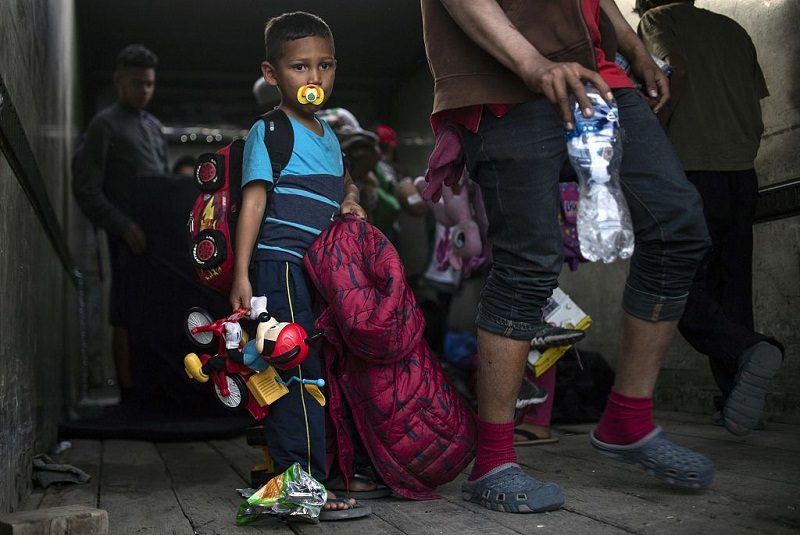Poor health conditions of Central American migrants worry Mexican, UN health officials