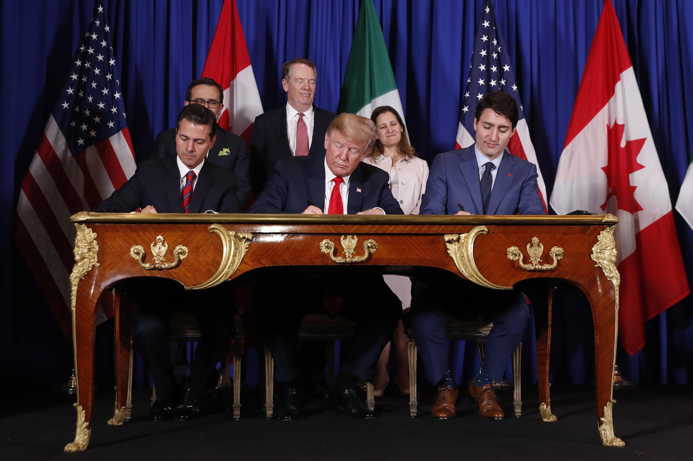 US, Mexico, Canada sign new USMCA trade deal