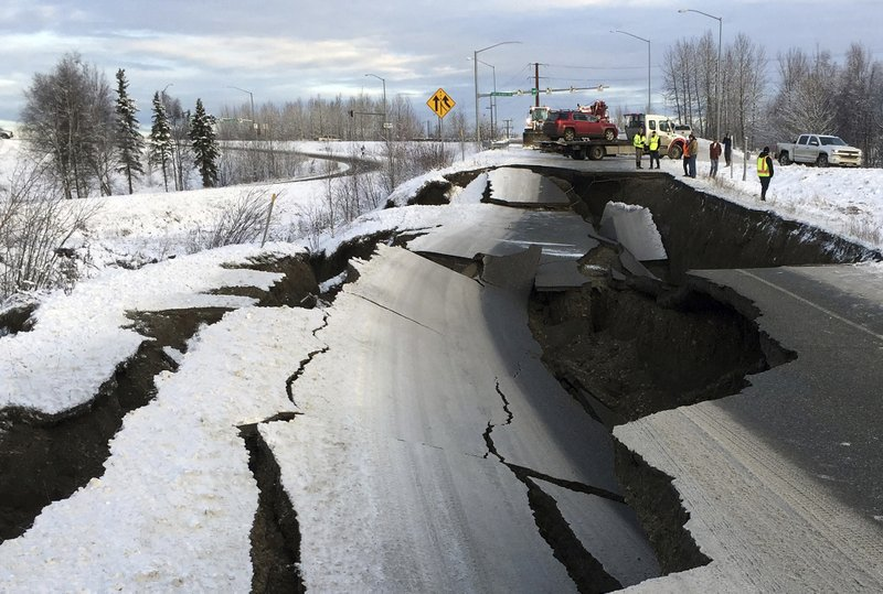 Magnitude 7.0 earthquake in Alaska