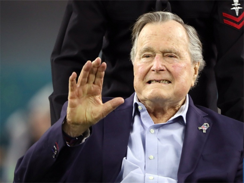 Trumps to attend state funeral for George H.W. Bush