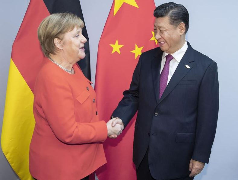 Xi pledges joint efforts with Germany to safeguard multilateralism, open economy