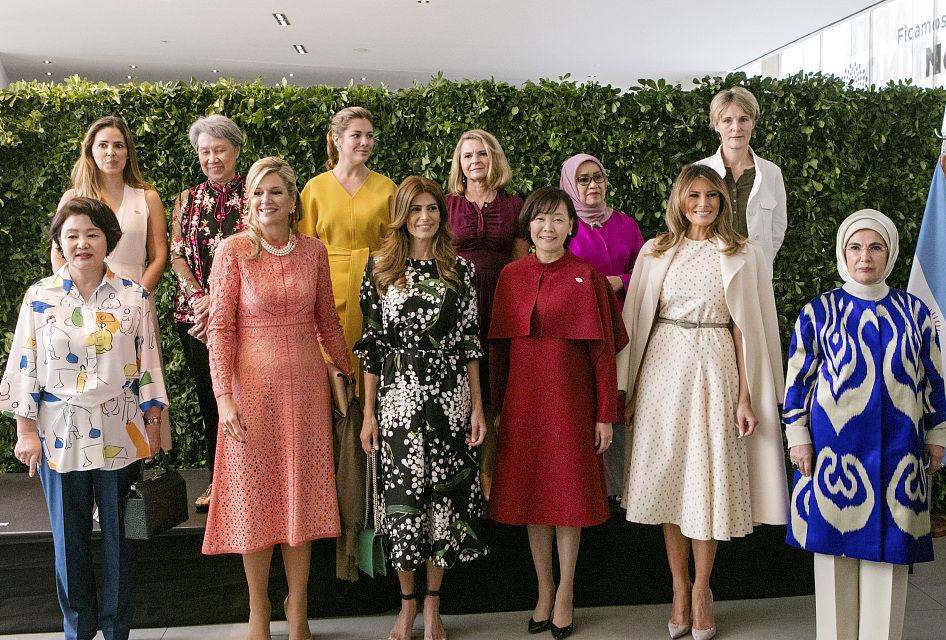 First ladies visit art museum during G20 Leaders' Summit