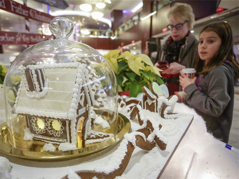 28th annual Gingerbread Lane event held in Vancouver, Canada