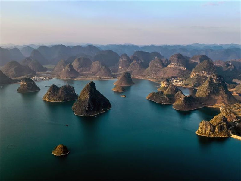 Scenery of Baise in China's Guangxi