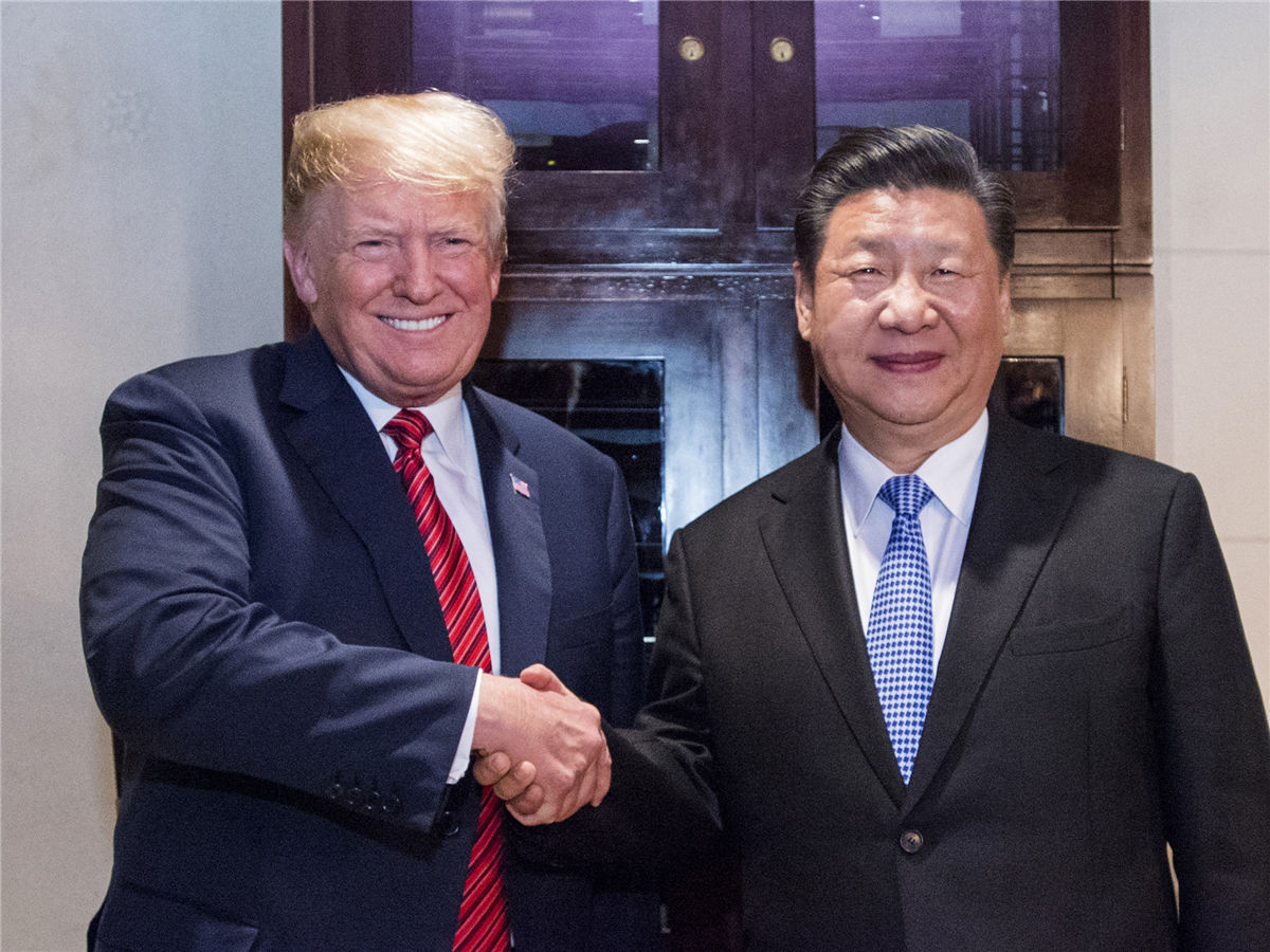 "Xi, Trump hold ""very successful"" meeting on ties, trade"