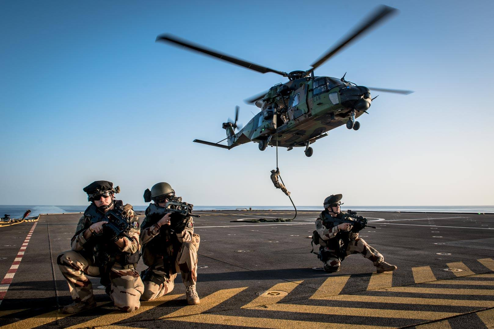 Egypt, France conduct naval drill in Red Sea