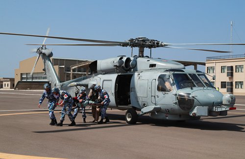 China, Spain hold medical rescue drill in Djibouti
