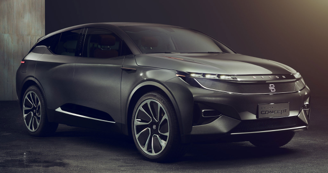 Chinese automaker Byton brings concept electric SUV to LA Auto Show
