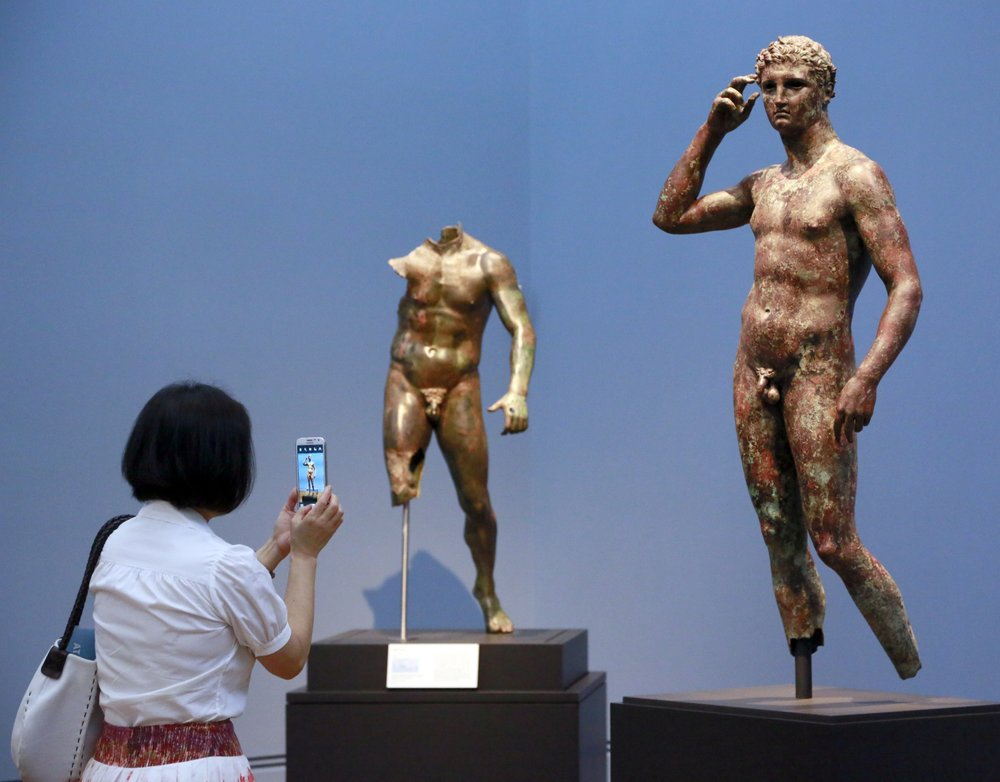 Getty museum says it has right to keep prized Greek statue