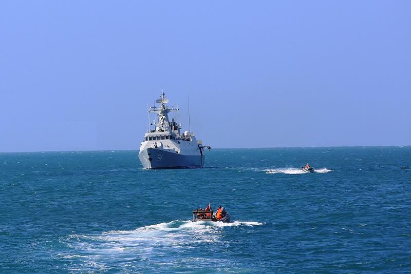Frigate flotilla conducts maritime operations