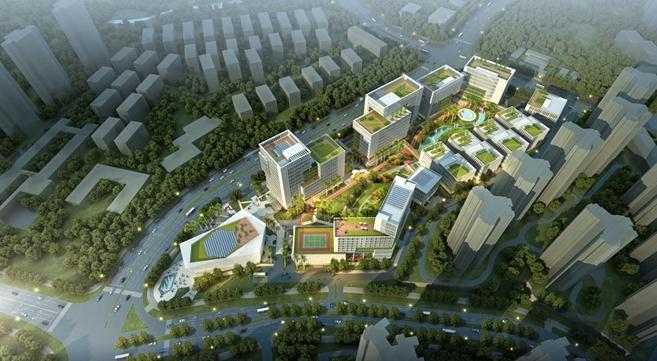 Construction begins on a 1.4 bln yuan smart industry park