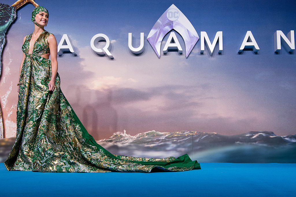 DC's 'Aquaman' premieres in China one week before int'l rollout