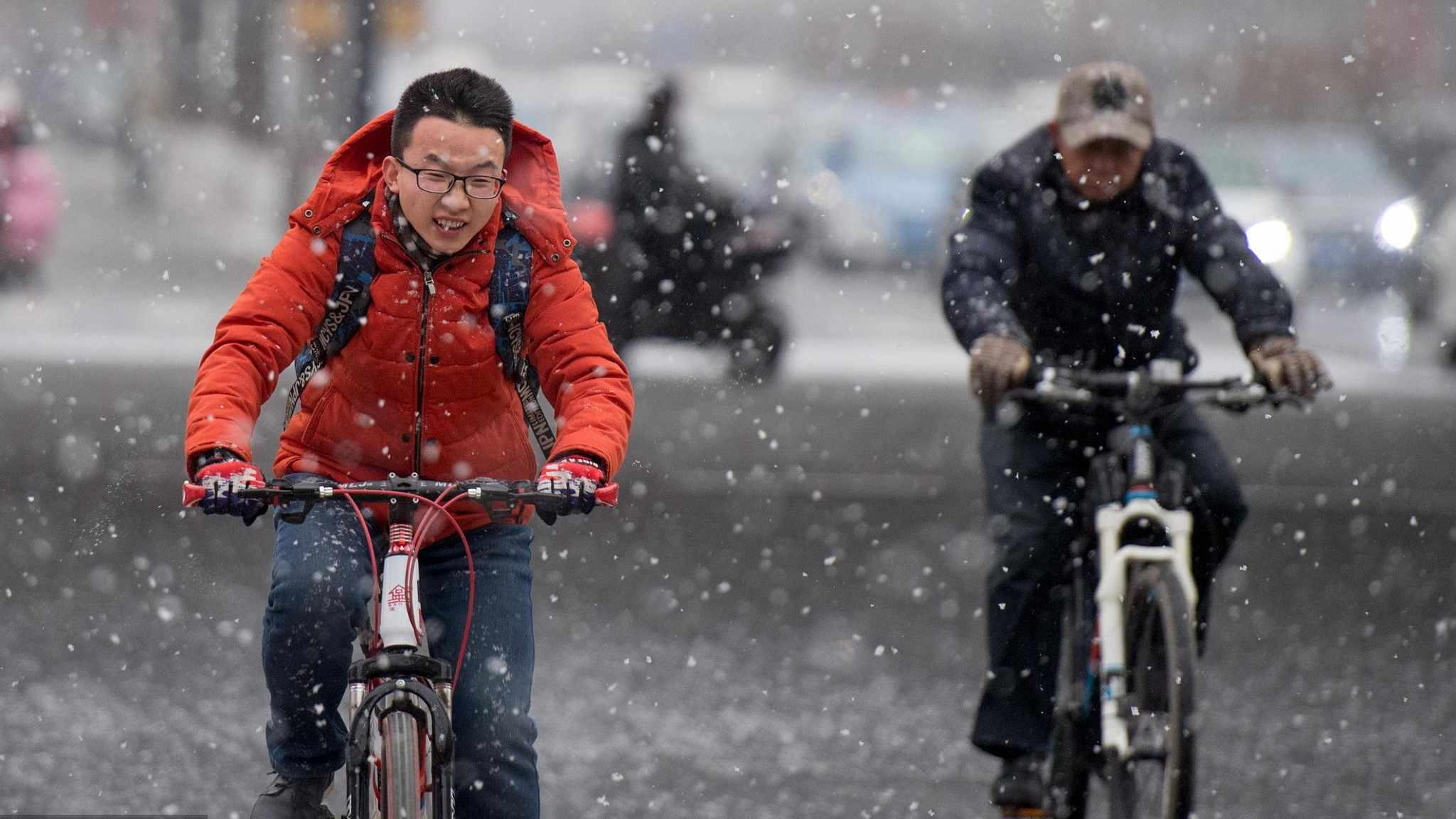 Winter is here! Cold wave hits most parts of China