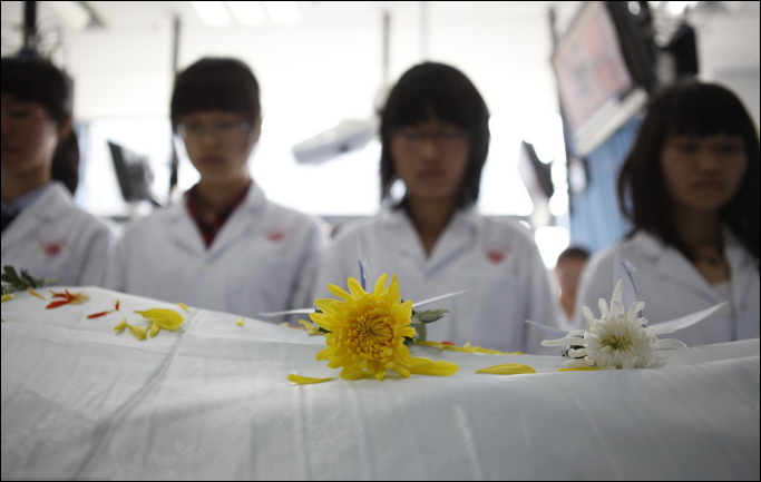 Body donation more acceptable among young Chinese