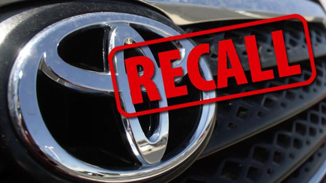 Toyota recalls 13,000 defective vehicles in China