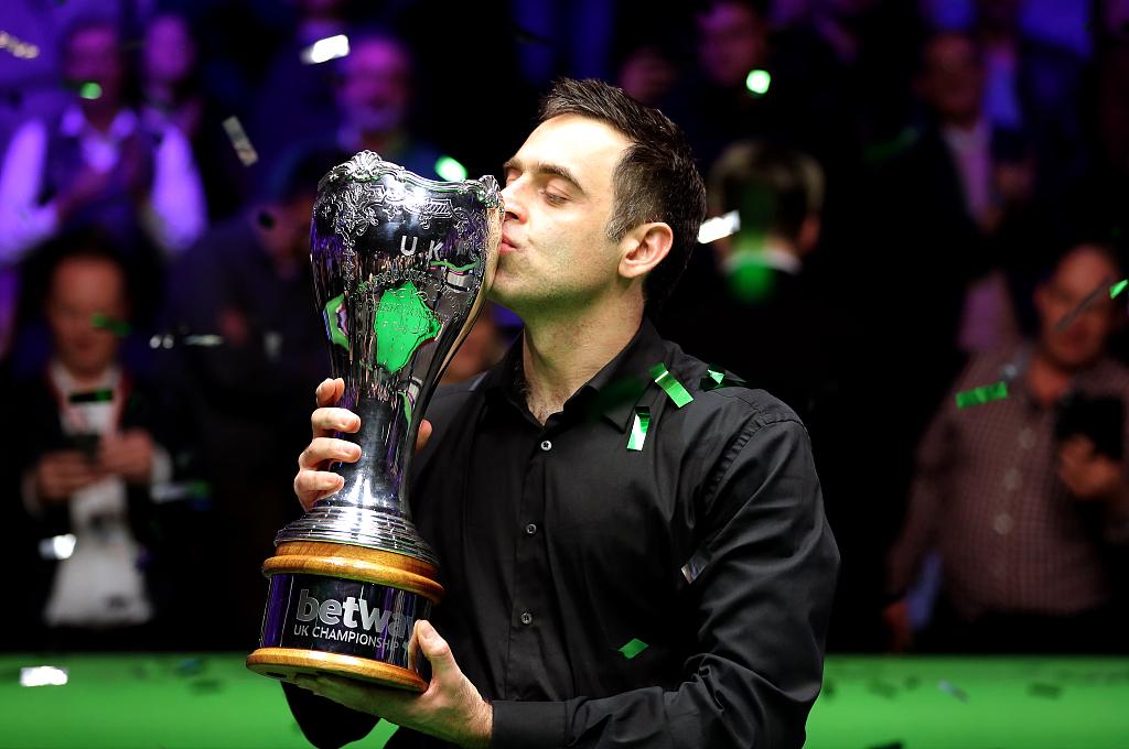 O'Sullivan wins record 7th UK Snooker Championship title