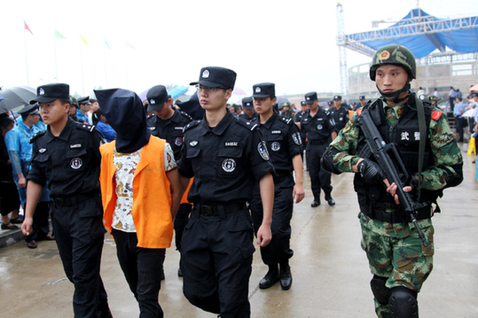 Drug dealers sentenced to death in north China province