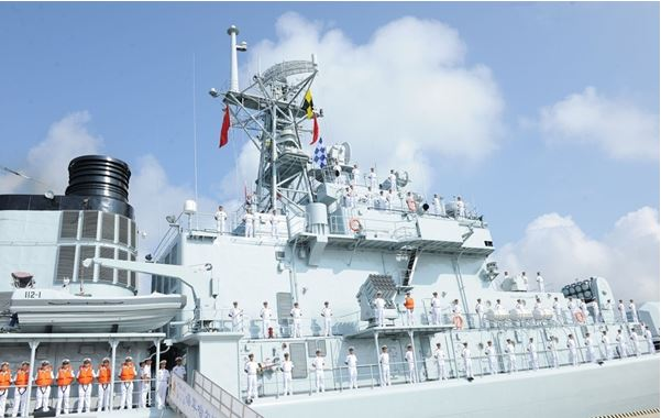 Chinese naval fleet leaves Zhanjiang for escort mission
