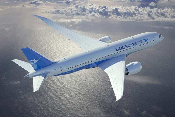 New air route links Fuzhou, Paris