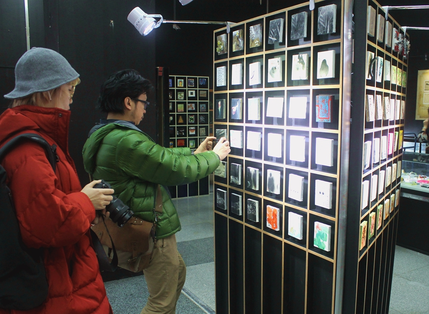 Beijing staging Colorful China Mini Art Exhibition