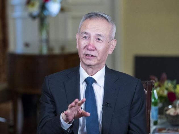 Chinese vice premier calls US officials on trade issues