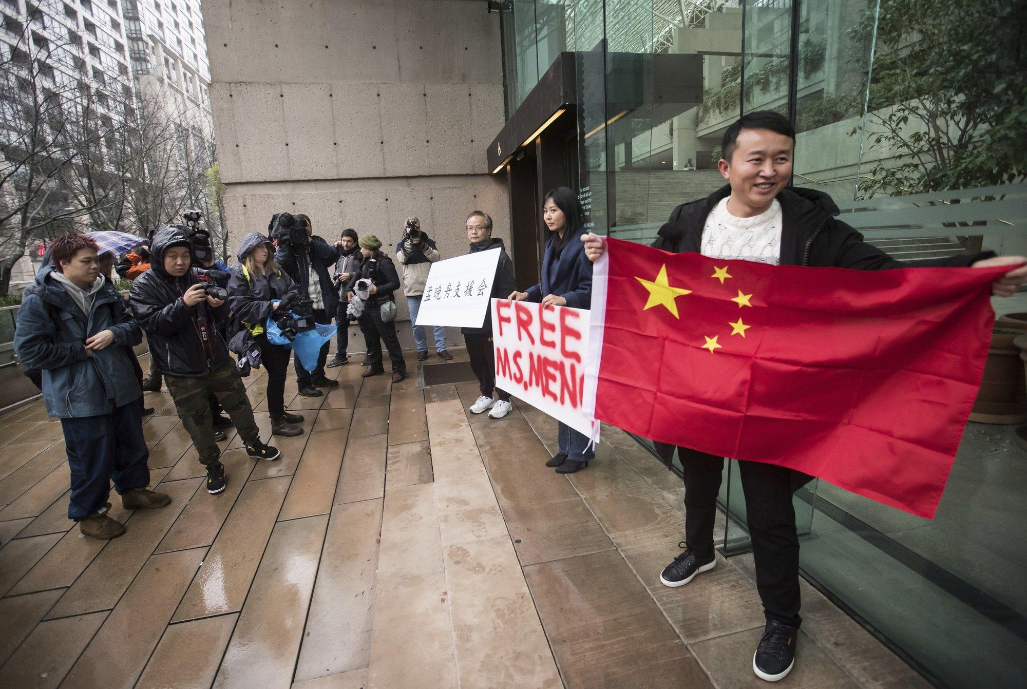 Huawei CFO granted bail at court hearing