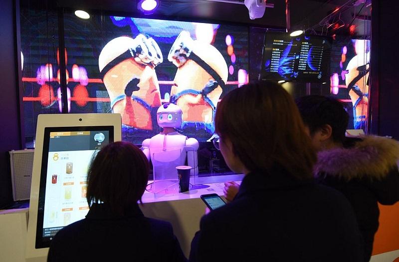 Robobarista in Hangzhou, Zhejiang