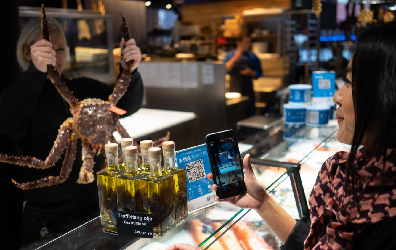 Norway rolls out Alipay to attract tourists from China