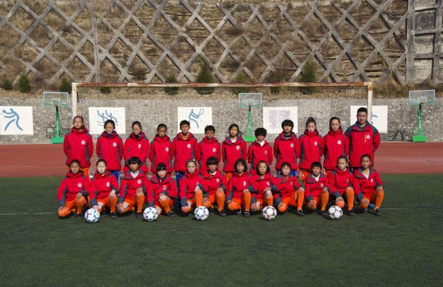 Chasing football dream on plateau