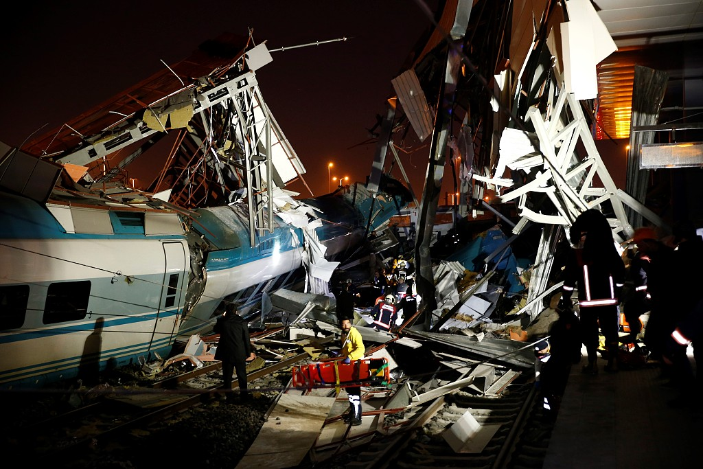 Four dead, 43 injured after train crash in Ankara: governor