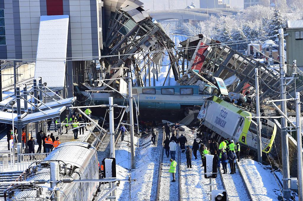 9 dead, 46 injured in high-speed train crash in Ankara