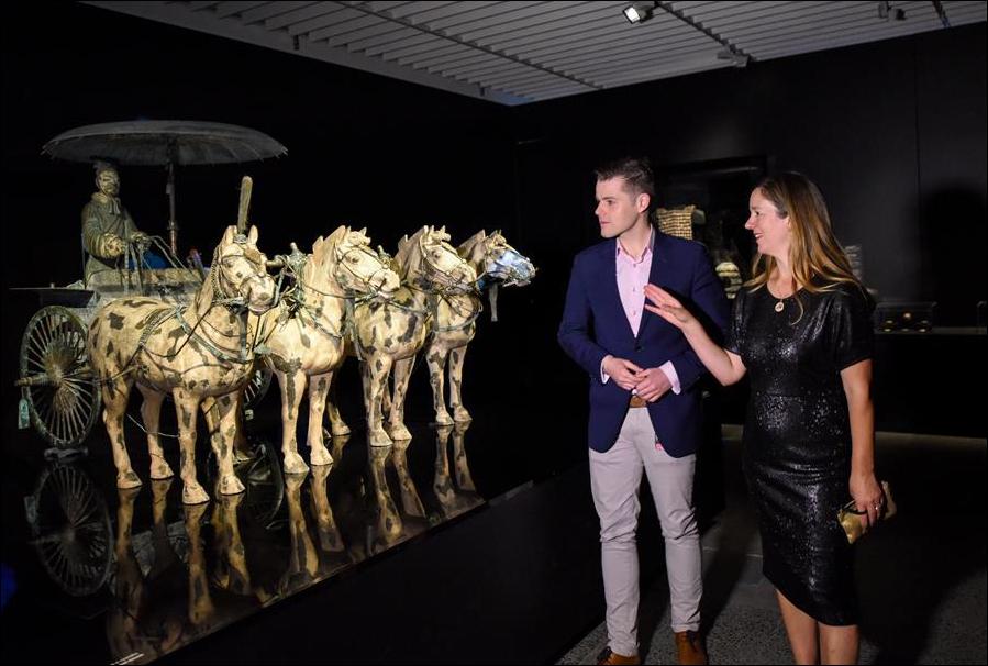 China's Terracotta Warriors exhibition kicks off in New Zealand