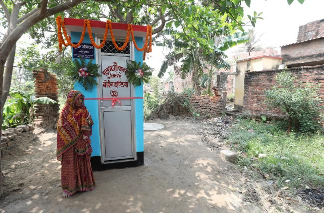 7-yr-old Indian girl takes dad to police over lack of toilet