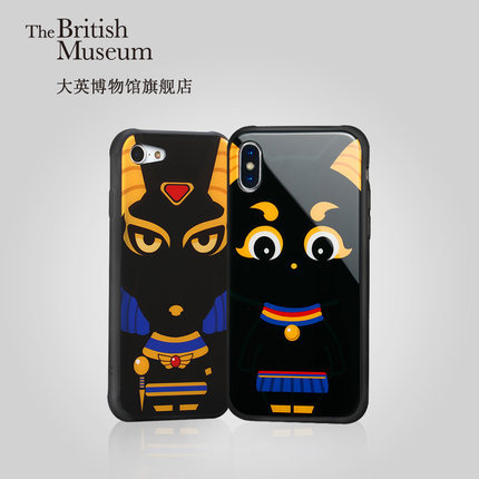 Mobile phone covers sold in the British Museum's online store on Tmall [Screenshot: China Plus]